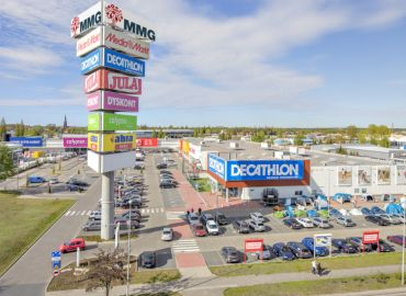 MMG Centers Szczecin with the largest sales showroom  of Komfort Łazienki in Poland