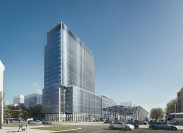 Hi New Work! Flexible office space operator chose the highest office tower in Łódź.