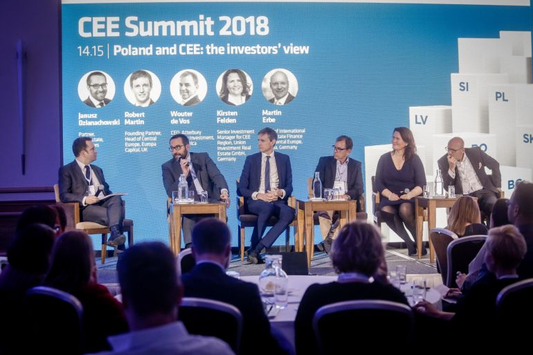 MMG at the CEE Summit 2018 hosted by Poland Today